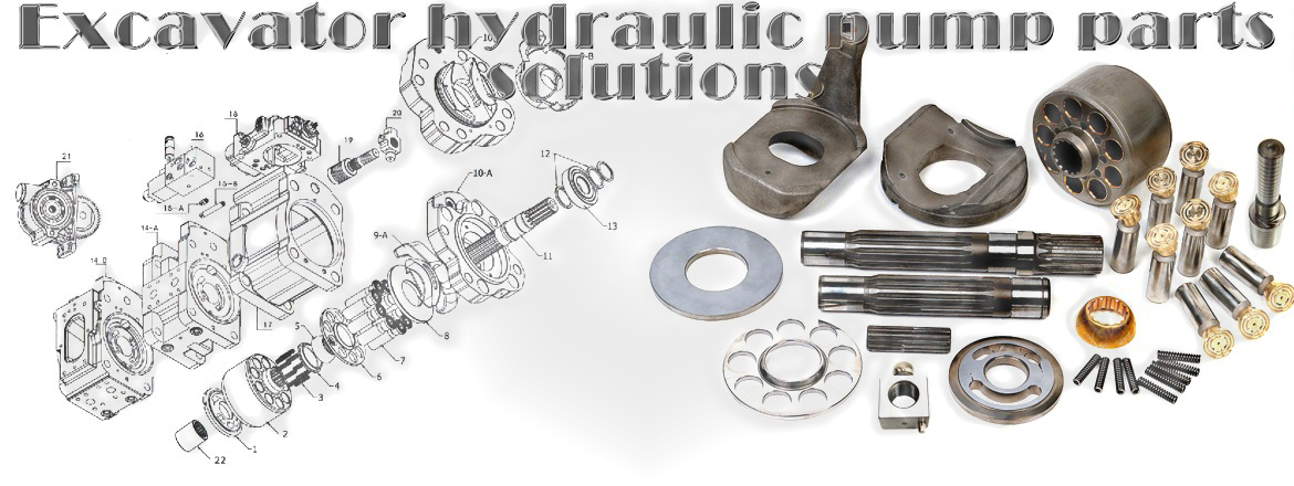 Excavator hydraulic pump parts for Komatsu ,Caterpillar, Hitachi, Hyundai, Doosan, Kobelco,Volvo,Cas