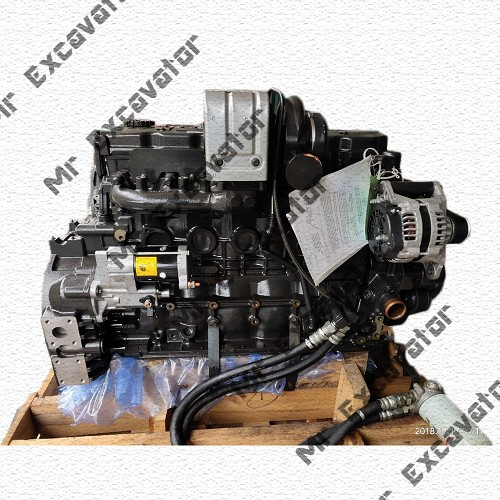 Komatsu 6D107 engine assy for PC200-8